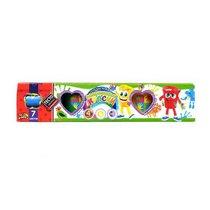 Набор пальчиковых красок 4 цвета + тесто для лепки 7 цветов