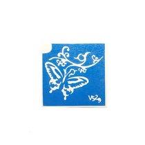 Трафарет для мехенди, временных тату V529, 5,5х5,5 см