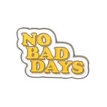"Металлический значок ""NO BAD DAYS"", 3,1х2,1 см"