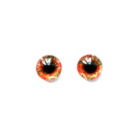 Глаза стеклянные для кукол (игрушек), 8 мм, R №5/103 (пара)