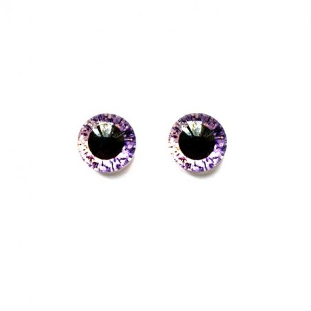 Глаза стеклянные для кукол (игрушек), 8 мм, R №5/106 (пара)