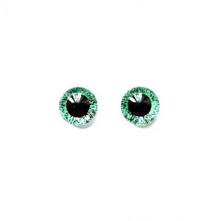 Глаза стеклянные для кукол (игрушек), 8 мм, R №5/109 (пара)
