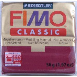Полимерная глина Fimo Classic, 56г - №4, оранжевый