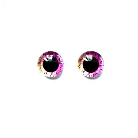 Глаза стеклянные для кукол (игрушек), 8 мм, R №5/113 (пара)