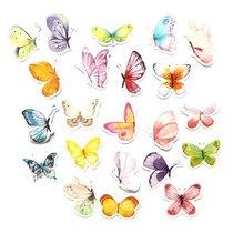 """Мини-стикеры (наклейки) """"Бабочки"""" (46 шт)"""