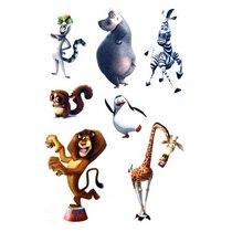 "Фетр жесткий с рисунком 1,2 мм ""Мультфильмы: Мадагаскар"" 20х30 см"