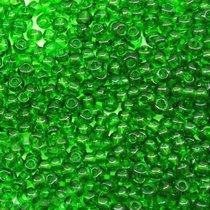 Бисер чешский PRECIOSA №50120-116- прозрачный темно-зеленый, 10 г