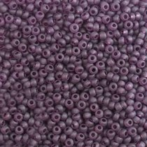 Бісер чеський PRECIOSA №20060-149- матовий прозорий аметистовий, 10 г