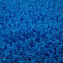 Бісер чеський PRECIOSA №60030-166- матовий прозорий лазурно-блакитний, 10 г