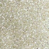 Бисер чешский PRECIOSA №78102-301- блестящий серебряный, 10 г