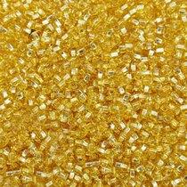 Бисер чешский PRECIOSA №17020-310- блестящий светло-золотой, 10 г