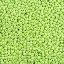 Бисер чешский PRECIOSA №58410-569- перламутровый светло-салатовый, 10 г
