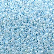 Бисер чешский PRECIOSA №37132-567- перламутровый светло-голубой, 10 г