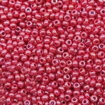 Бисер чешский PRECIOSA №98210-549- перламутровый бордовый, 10 г