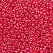 Бисер чешский PRECIOSA №98190-548- перламутровый красно-бордовый, 10 г
