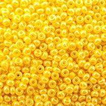 Бисер чешский PRECIOSA №17386-508- перламутровый желтый, 10 г