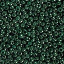 Бисер чешский PRECIOSA №58240-553- перламутровый изумрудный темный, 10 г
