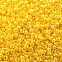 Бисер чешский PRECIOSA №88110-550- перламутровый желтый, 10 г