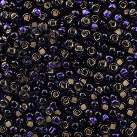 Бисер чешский PRECIOSA №37110-333- блестящий темно-фиолетовый, 10 г
