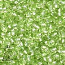 Бисер чешский PRECIOSA №78163-343- блестящий бледно-зеленый, 10 г