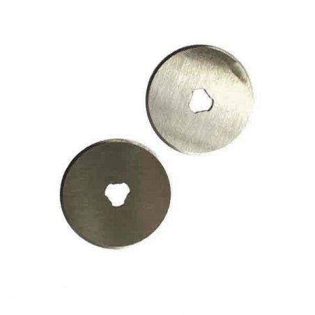 Набор сменных лезвий для дискового ножа (диаметр 4,5 см),  2 штуки