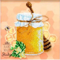 """Схема для вишивки бісером """"Квітковий мед"""" Т-1120, 15,5х15,5 см"""