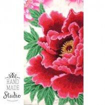 """Схема для вишивки бісером """"Розкішне цвітіння"""" Т-0907, 24х43 см"""