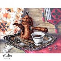 """Схема для вишивки бісером """"Смак кави"""" Т-0595, 32х23,5 см"""