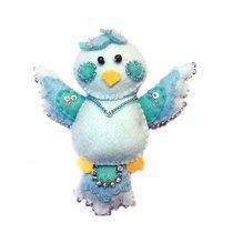 """Набір для виготовлення декоративної іграшки з фетру """"Голуб"""" ФН-79, 12х11 см"""