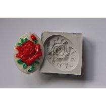 Термоустойчивый силиконовый молд  Роза