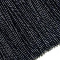 Шнур синтетический плетеный, цвет черный 1,5 мм, 1м