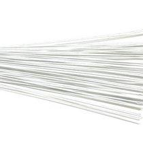 Проволока для стволов в тейп-ленте 20х12 белая, 10 штук