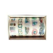 """Набор цветных декоративных скотчей """"Travel"""" YD-128/2, 5 штук"""