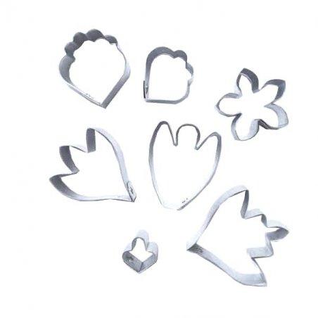 Металлические каттеры для изготовления пионовидной розы M 02-0171