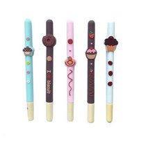 "Ручка гелевая ароматизированная ""Chocolate biscuit pen"" white, 1 штука"