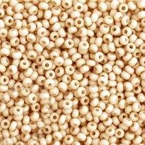 Бисер чешский PRECIOSA №242-10/0-03211- натуральный, молочный пастельный, 10 г