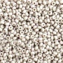 Бисер чешский PRECIOSA №241-10/0-03441- натуральный, серебряный, 10 г