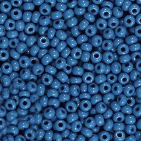 Бисер чешский PRECIOSA №226-10/0-33210- натуральный, синий светлый, 10 г