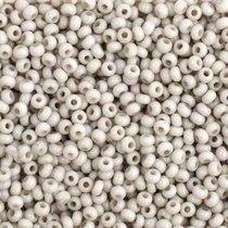 Бисер чешский PRECIOSA №240-10/0-03241- натуральный, светло-серый пастельный, 10 г