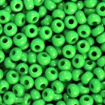 Бисер чешский PRECIOSA №217-10/0-53250- натуральный, зеленый, 10 г