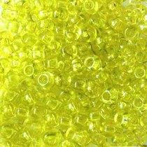 Бисер чешский PRECIOSA №816-10/0-01153- кристаллический, желто-салатовый, 10 г