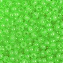 Бисер чешский PRECIOSA №412-10/0-02161- алебастровый травяной светлый, 10 г