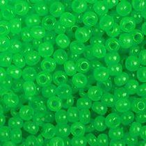 Бисер чешский PRECIOSA №428-10/0-52240- алебастровый зеленый, 10 г
