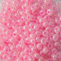 Бисер чешский PRECIOSA №570-10/0-37175- жемчужный, светло-розовый, 10 г