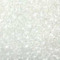 Бисер чешский PRECIOSA №101-10/0-00050- прозрачный, снежный белый, 10 г