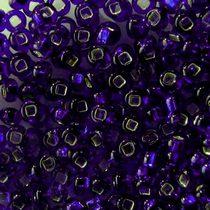 Бисер чешский PRECIOSA №475-10/0-37110- блестящий с квадратной серединкой, темно-фиолетовый, 10 г