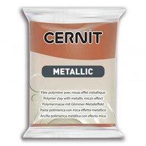Полимерная глина CERNIT METALLIC, №058- бронза, 56 г