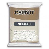 Полимерная глина CERNIT METALLIC, №059- античная бронза, 56 г