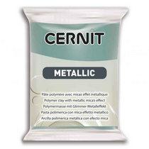 Полимерная глина CERNIT METALLIC, №054- бирюзовое золото, 56 г