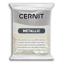Полимерная глина CERNIT METALLIC, №080- серебро, 56 г